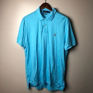 Polo Ralph Lauren Prima Soft Touch Blue Polo Large